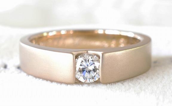 鋳造での婚約指輪
