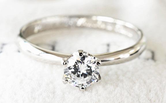 鍛造での婚約指輪
