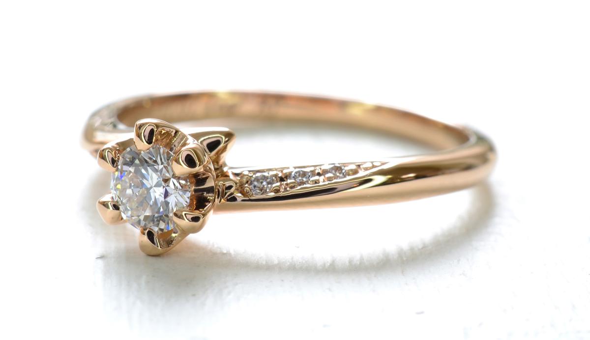 デザインワックスで婚約指輪を作る