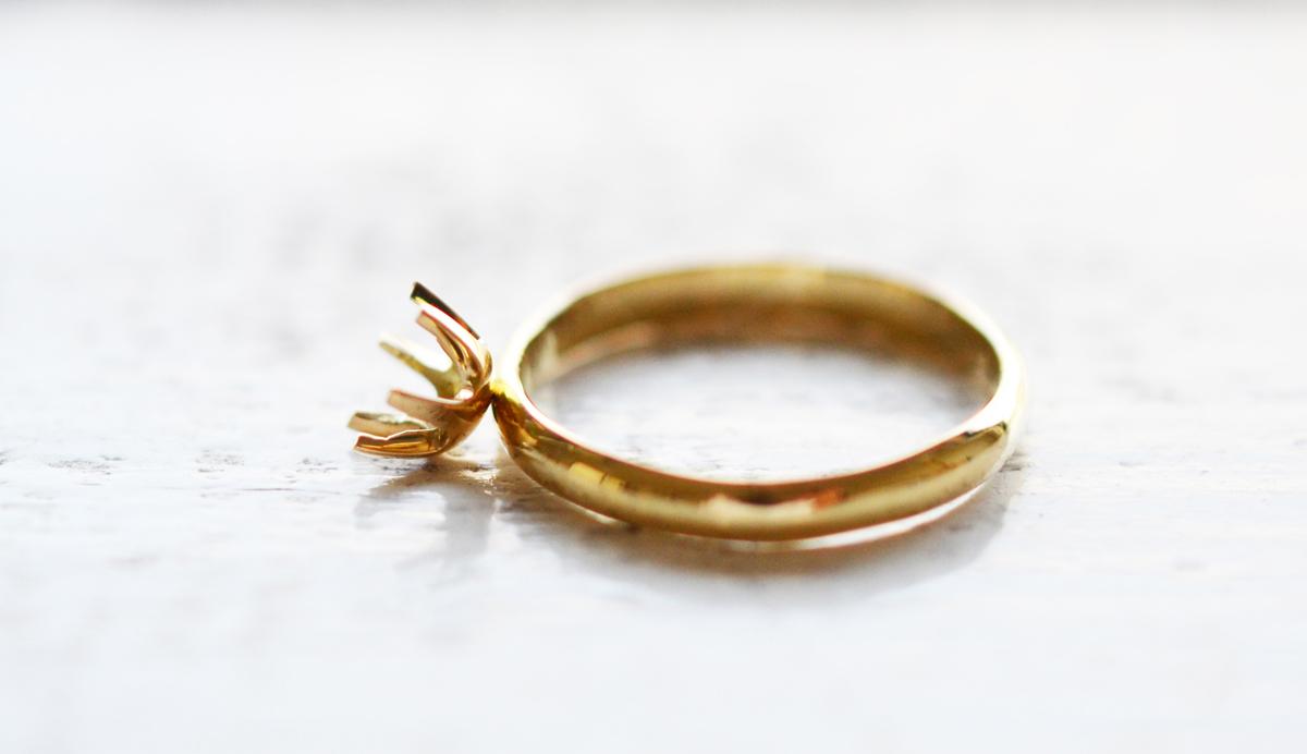 婚約指輪を手作りする
