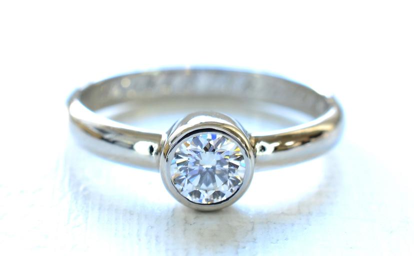 婚約指輪鍛造ギャラリー