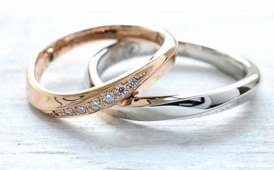 結婚指輪 手作りデザインワックスコース