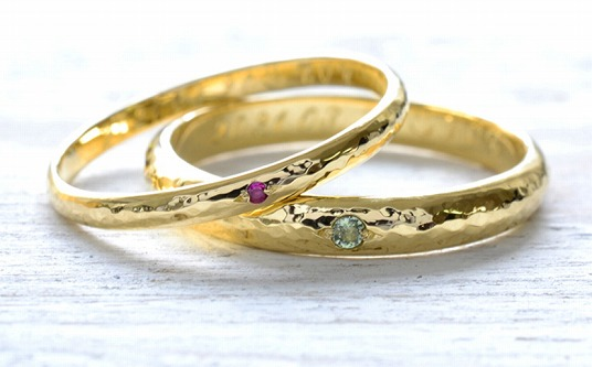 二人で作る手作り結婚指輪当日コース