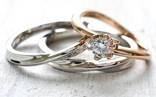 手作り結婚指輪・婚約指輪同時製作コース